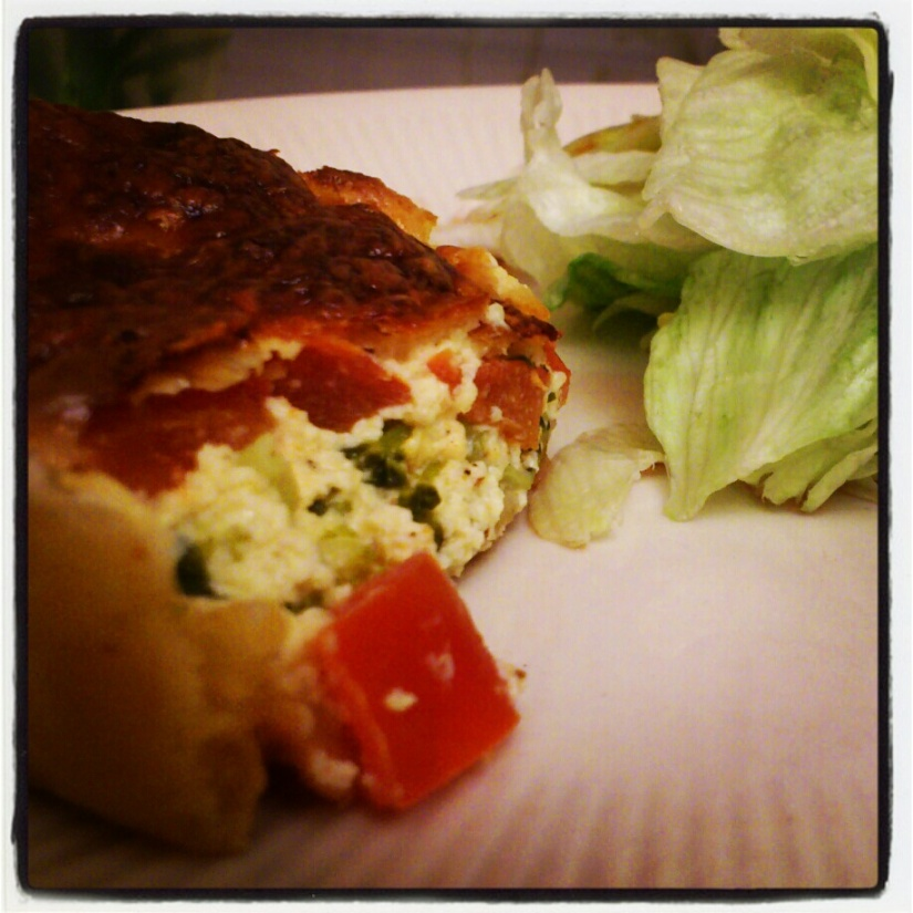 Tarte brocoli-mozzarella (qui craque)